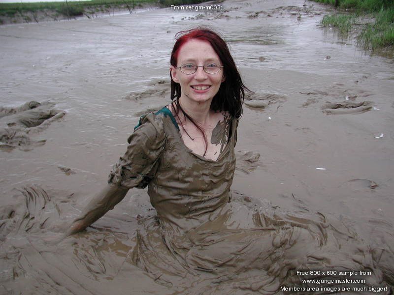 The Green Lady Of The Mudflats The Green Lady Of The